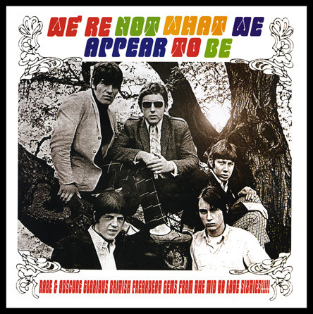 Various – We're Not What We Appear To Be : 60's UK Beat Mod Garage R&B Rock Music Bands Compilation